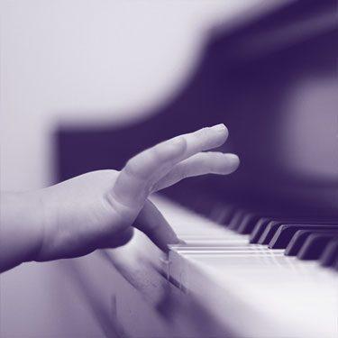 begynder klaver